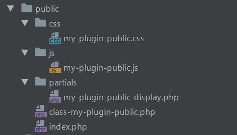 wppb boilerplate - js and jcc files