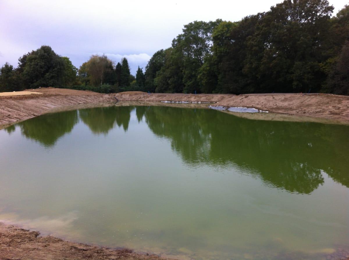 Contour Golf Lake Construction