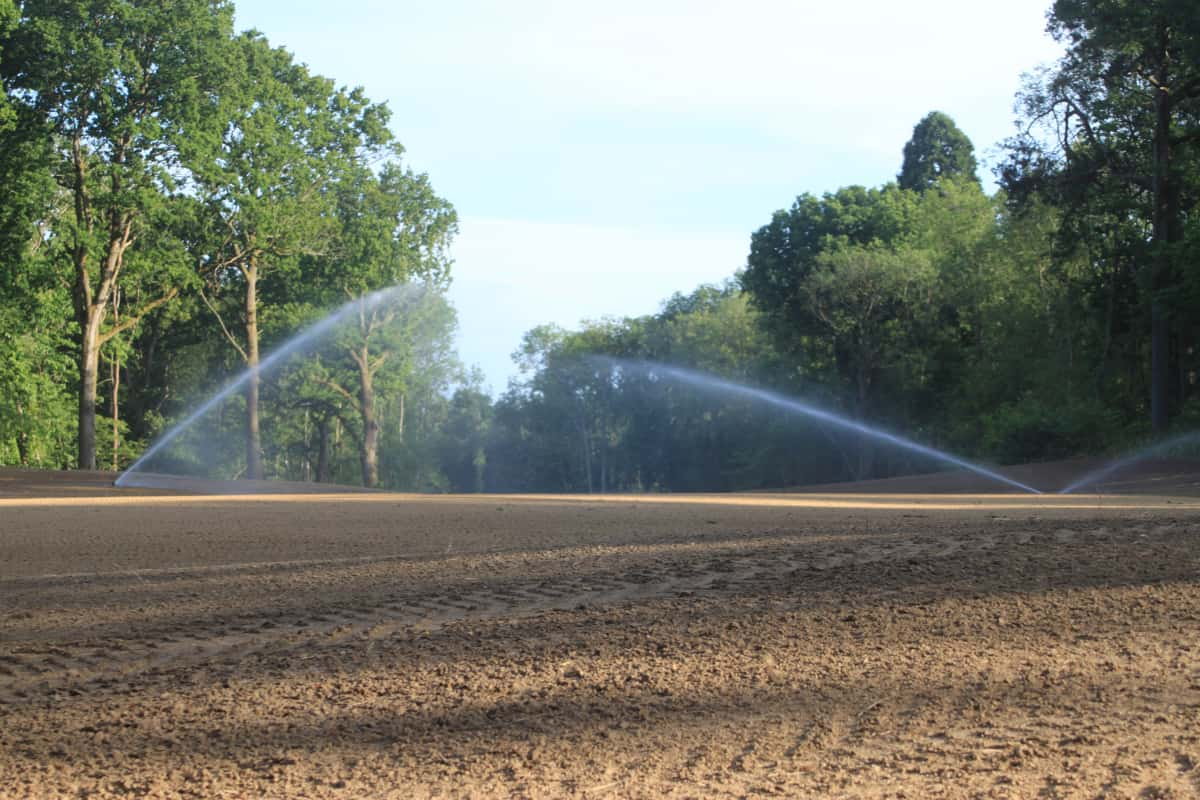 Contour Golf Irrigation Installation