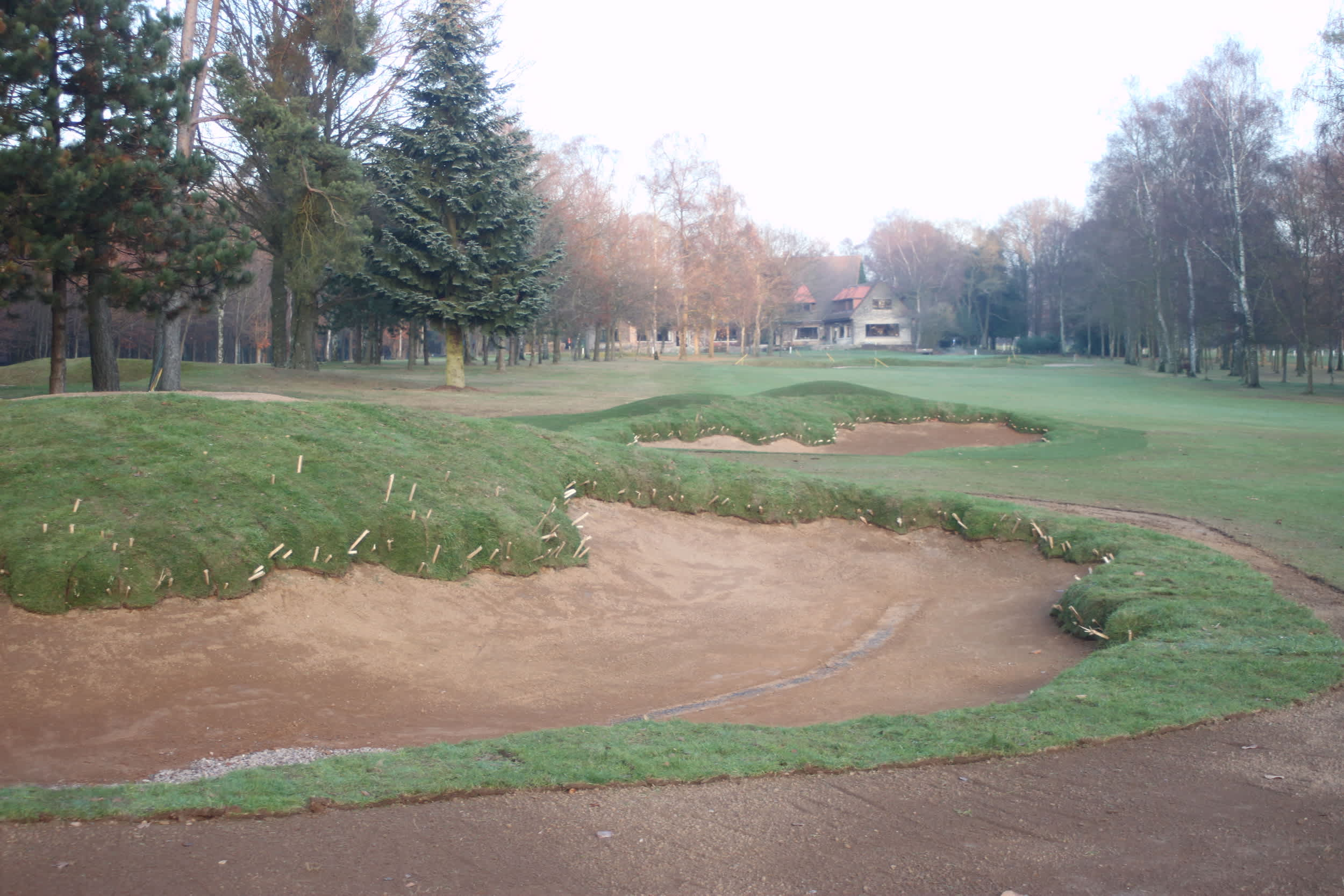 Contour Golf Ltd Bunker Construction