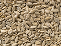 Sunflower seeds are a high fiber food.