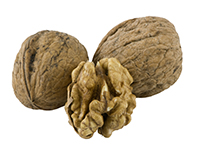 Black walnuts are a high omega-3 food.