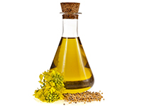Mustard oil is a high omega-3 food.