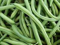 Green beans are a high potassium food.