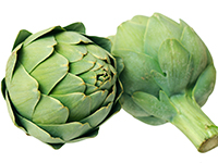 Artichokes are a high fiber food.