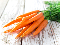 Carrots are a lower calorie filler food.