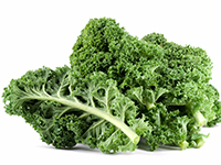 Kale is a lower calorie filler food.