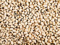 Black-eyed peas are a lower calorie filler food.