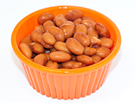 Pinto beans are a lower calorie filler food.
