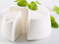 Nonfat ricotta cheese is a lower calorie filler food.