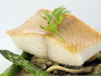 Sablefish is a high omega-3 food.