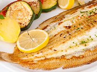 Sole is a lower calorie filler food.