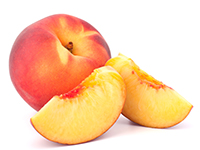Peaches and nectarines are lower calorie filler foods.