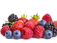 Berries are lower calorie filler foods.