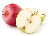 Apples are a lower calorie filler food.