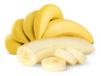 Bananas are a lower calorie filler food.