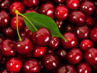 Cherries are a lower calorie filler food.