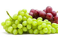 Grapes are a lower calorie filler food.