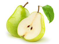 Pears are a lower calorie filler food.