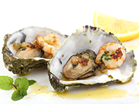 Oysters are a high iron food.