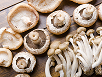 Mushrooms are a lower calorie filler food.