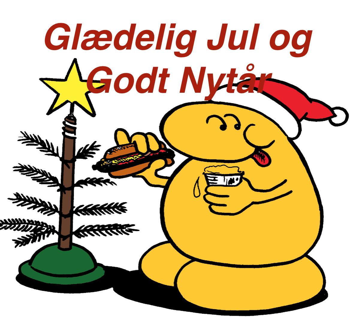 Logo Christmas mascot