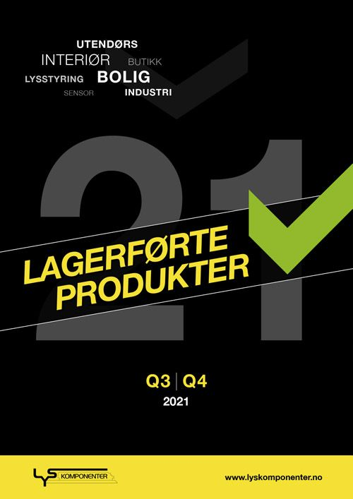 Katalogen Lagerførte produkter 2021