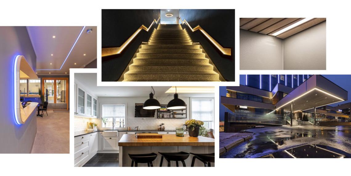 LED-strips: løsningsforslag