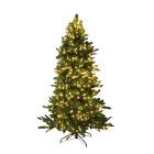 Juletre H:230 cm m/lys