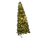 Juletre for vegg H:180 cm m/lys