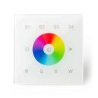 Veggpanel DMX RGB Master 4 soner 230V Touch