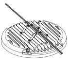 CL4545 Brakett for horisontal wire