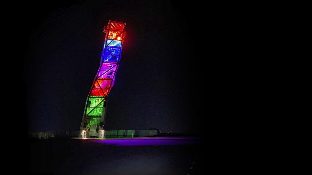 Over - verdens høyeste klatretårn