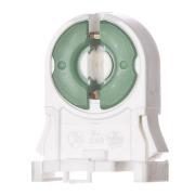 LKA713 Lysrørholder H:35 mm enkel