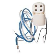 LKA928 Lysrørholder for sirkelrør med skrufeste