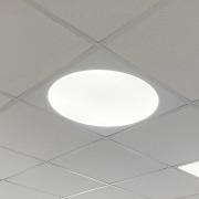 Sirkelplate 600x600 mm hvit