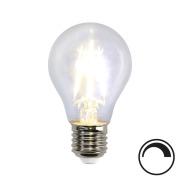 Filamentpære Klar LED A60 E27 400LM 827 4W DIM