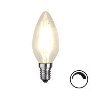 Filamentpære Klar LED C35 E14 420LM 827 4,2W DIM