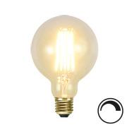 Filamentpære Soft Glow LED G95 SOFT E27 320LM 821 3,6W DIM