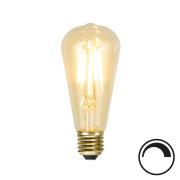 Filamentpære Soft Glow LED ST58 SOFT E27 140LM 821 1,5W DIM