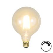 Filamentpære Soft Glow LED G125 SOFT E27 320LM 821 3,6W DIM