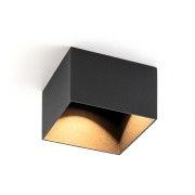 One Soft dekor firkantet sort