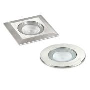 GL016 Nedfelt spot 60 mm klart glass