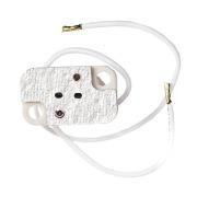LKA984 Halogenholder 12V m/14cm kabel G4 / G5,3 / GY6,35
