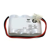 Batteri 3,6V 1,8Ah Rekke
