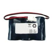 Batteri 3,6V 4,5Ah Serie