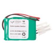 Batteri 4,8V 0,3Ah Rekke Molex