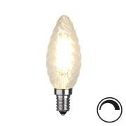 Filamentpære Klar LED TC35 E14 420LM 827 4,2W DIM