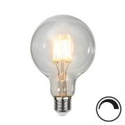 Filamentpære Klar LED G95 E27 470LM 827 4,7W DIM