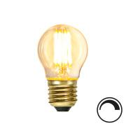 Filamentpære Soft Glow LED P45 SOFT E27 350LM 821 4W DIM